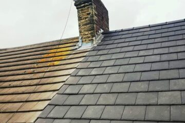 Gutter Replacement around Nether Edge